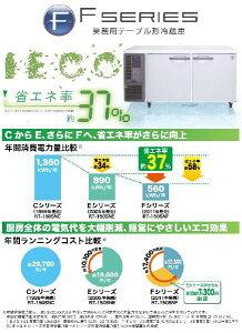 新品税込送料込ホシザキインバーター制御内装ステンレス仕様横型冷蔵庫RT-150SDF-E-R(右側ユニット仕様)*受注生産W1500・D750・H800(mm)