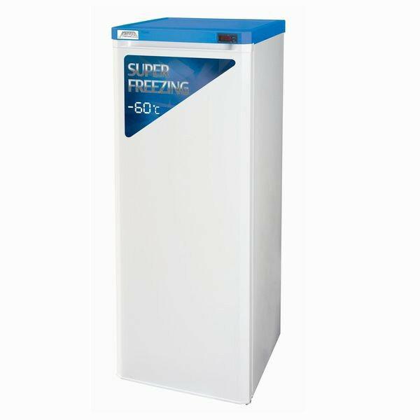 (株)カノウ冷機 超低温(-60℃) 自然冷媒 (ノンフロン) 縦型ストッカー MG-206 180リットル 冷凍庫 フリーザー