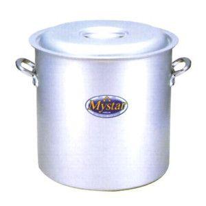 新品 消費税込み 送料込み マイスターシリーズ アルミマイスター寸胴鍋 蓋付き 54cm:プロマーケット