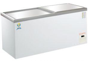 (株)カノウ冷機 超低温(-50℃) ショーケース型ストッカー LTS-500 480リットル 冷凍庫 フリーザー