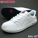 ケースイス スニーカー ホワイト/ネイビー K-SWISS ...