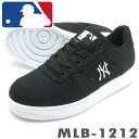 ニューヨークヤンキース MLB-1212 ブラックニット 大き目の作りです ローカット スニーカー MLB1212PSsale
