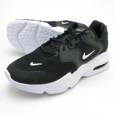 ナイキ ウィメンズ エア マックス 2X NIKE WS AIR MAX 2X ブラック/ホワイト/ブラック レディース ローカットシューズ 靴