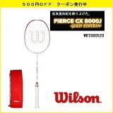[楽天市場]WILSONウィルソンバドミントンラケットフィアースCX8000J-GOLDEDITION-松友美佐紀2012-2013スペック復刻版