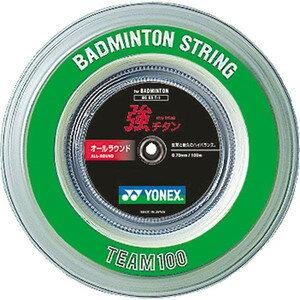 (Yonex) YONEX badminton strings strong titanium 100 m rolls BG65T-1 30% off