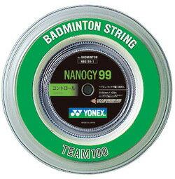 (Yonex) YONEX badminton-string NBG99-1 ナノジー 99 100 m rolls NBG99-1 30% off