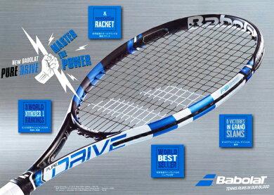 [楽天市場]BABOLAT(バボラ)テニスラケットピュアドライブPUREDRIVE[ポイント10倍]