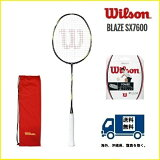 [楽天市場]WILSONウィルソンバドミントンラケットブレイズSX7600BLAZESX7600(WRT8715202)