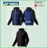 [楽天市場]YONEXヨネックステニス・バドミントンウェア数量限定男女兼用UNIユニスウェットパーカー300432017年1月下旬発売開始