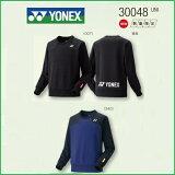 [楽天市場]YONEXヨネックステニス・バドミントンウェア数量限定男女兼用UNIユニスウェットトレーナー300482017年1月下旬発売開始