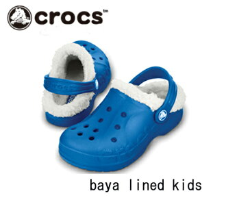 [Crocs 日本真正卡駱馳 (Crocs) 鞋 · 巴亞琳達孩子們 · 巴亞內襯的孩子