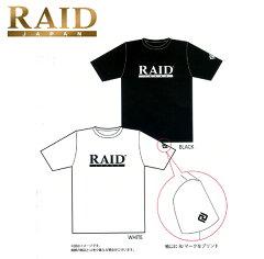 【★在庫一掃セール!30%OFF!】 レイドジャパン(RAID JAPAN) オフィシャル ロゴ Tee Tシャ...