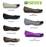 【クロックスジャパン正規品】 クロックス(crocs) キャップトゥ フラット (cap toe flat w) 【メール便NG】【crocssale】