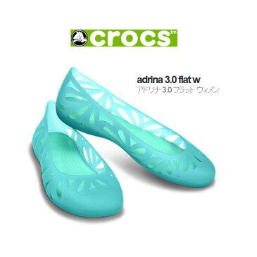 【クロックスジャパン正規品】 クロックス (crocs) アドリナ3 フラット ウィメン 【メール便NG】【crocssale】