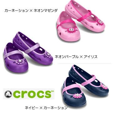 【クロックスジャパン正規品】 クロックス(crocs) キーリー ぺタル チャーム フラット PS 【メール便NG】【crocssale】
