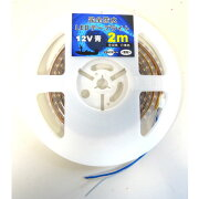 完全防水LEDテープライト12v2mライトカラー青【メール便NG】
