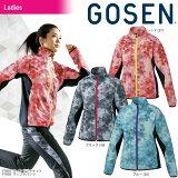ゴーセン GOSEN テニスウェア レディース ウィンドジャケット Y1801 2018SS