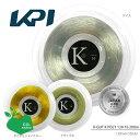 【エントリーでポイント10倍▲6/20 0時〜 24時間限定】【均一セール】『即日出荷』 【日本製】KPI(ケイピーアイ)「KPI K-GUT K POLY 130 16(KPI Kポリ130 16) KPITS1522 200mロール」硬式テニスストリング(ガット)「あす楽対応」【prospo】 KPIオリジナル商品