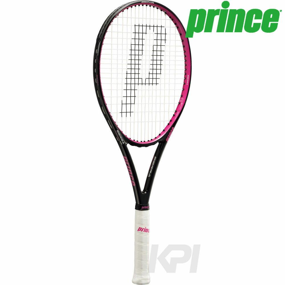 「2017新製品」Prince(プリンス)[SIERRA 100(シエラ 100) BLK/MGT 7TJ038]硬式テニスラケット(スマートテニスセンサー対応)【prospo】