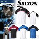 「2017新製品」SRIXON(スリクソン)「UNISEX CLUB LINE ポロシャツ SDP-1744」テニスウェア「2017FW」【prospo】