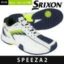 【365日出荷】「あす楽対応」スリクソン SRIXON テニスシューズ メンズ SPEEZA2 OMNI & CLAY スピーザ2 ...
