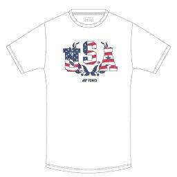 「あす楽対応」ヨネックス YONEX バドミントンウェア ユニセックス ユニ ドライTシャツ アメリカ YOB21010 2021SS 『即日出荷』