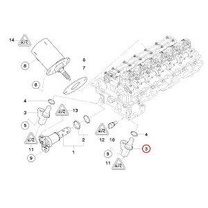 VDO製BMWE81E82E87E88E90カムシャフトポジションセンサー/カムシャフトセンサー/カムセンサー13627525014S119445001Z【あす楽対応_関東】