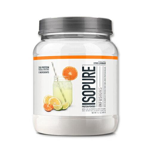 Isopure Infusions プロテイン 400g シトラス レモネードホエイプロテイン 筋トレ スポーツ フルーツ タンパク質 女性 ダイエット画像