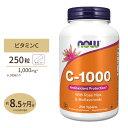 【送料無料】ビタミンC-1000 with ローズヒップ・バイオフラボノイド 1,000mg 250 ...
