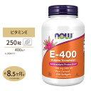 E-400(d-アルファトコフェリル)250粒 ソフトジェル NOW Foods(ナウフーズ)サプリ/ビタミン/美しさ/元気