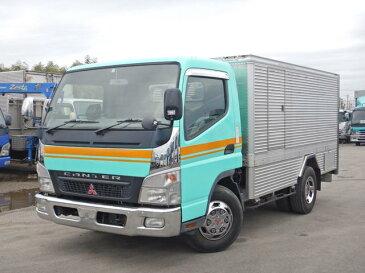 キャンター バキュームカー 3t ワイド 電動ホースリール 糞尿車(三菱ふそう)【中古】