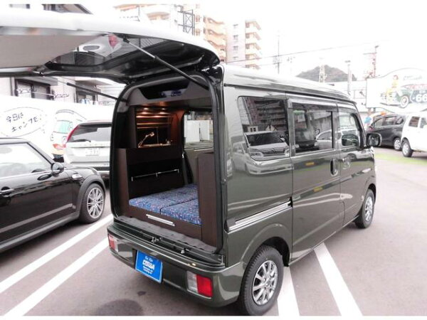 エブリイジョイン5AGS軽キャンピングカー新車装着基本装備(スズキ)