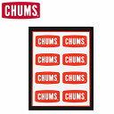 チャムス ステッカー アウトドア ブランド CHUMS スーツケース 車 かっこいい おしゃれ キャラクター ロゴ キャンプ フェス クーラーボックス かわいい ブービーバード Sticker CHUMS Logo Mini CH62-0089 【まとめ割】