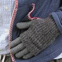 アームウォーマー 2WAY リブ ニット アームウォーマー 手袋 暖か...