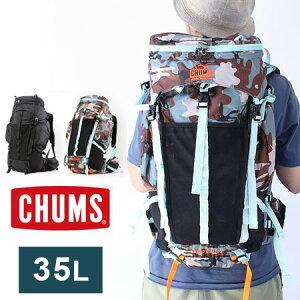 CHUMS チャムス  Spring Dale 35L II スプリングデール CH60-2215 / バックパック リュックサック デイパック メンズ レディース アウトドア キャンプ 旅行 野外フェス ウエストバッグ 新作 【ネコポス