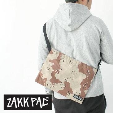 ZAKKPAC ザックパック SACOCHE サコッシュ CHOCO-CHIP メンズ レディース カモフラージュ アウトドア フェス