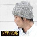 NEWYORKHAT ニューヨークハット MARL CHUNK CUFF #4680 ニット帽 ビーニー 大きいサイズ ワッチ 薄手 おしゃれ カラフル ニットキャップ ワッチキャップ 秋 冬 秋冬