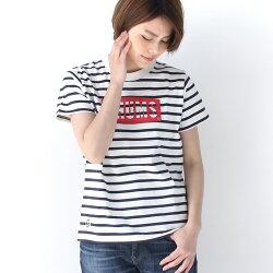 【あす楽】CHUMSチャムスLogoT-shirtW'sTシャツレディース