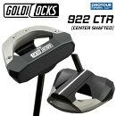 GOLDILOCKS【ALLBLACK】ゴルディロックスModel922CTRパター