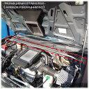 【送料無料・即日発送】JB23 ジムニー(9〜10型専用) ステンレス製 エンジンルーム補強バー 補強 強化 クロカン 本格 タワーバー