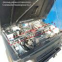 【送料無料・即日発送】JA11 ジムニー ステンレス製 エンジンルーム補強バー 補強 強化 クロカン 本格 タワーバー