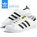 adidas アディダス スニーカー メンズ レディース スーパースター SUPERSTAR シューズ 靴 ホワイト ブ