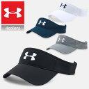 【キャッシュレス決済で5%還元】 アンダーアーマー サンバイザー UNDER ARMOUR CORE GOLF VISOR 帽子 キャップ スポーツ ゴルフ