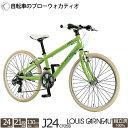 子供用自転車 クロスバイク ルイガノ J24Cross 24インチ 21段変速 2019 完全組立 店舗受取 自社便配送限定