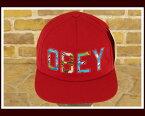 OBEY オベイ リゾート スナップバック キャップ(CAP) メンズ 【100140163R】【あす楽対応】