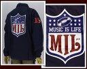 NESTA BRAND ネスタブランド NFLロゴをサンプリング コーチジャケット メンズ 【J1405H MIL】
