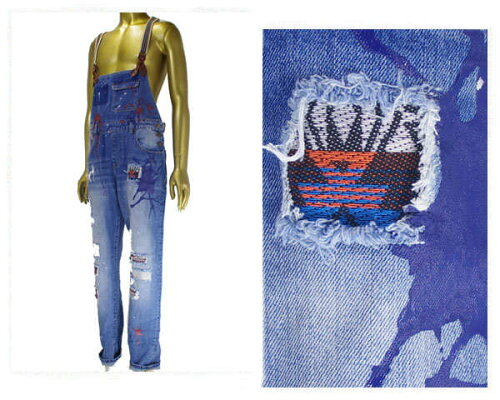 REASON CLOTHING リーズン クロージンク ビッグサイズ 対応 ニューヨーク発 MIXER OVERALLS - BLUE...