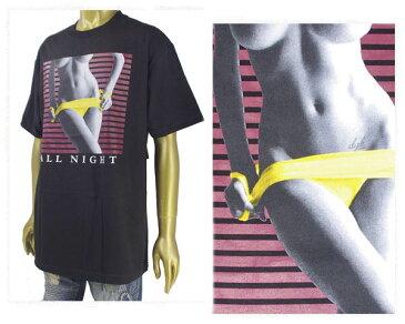 DGK ディージーケー DGK ALL NIGHT TEE SEXYなデザイン Tシャツ メンズ 【DG17HT17 オールナイト】