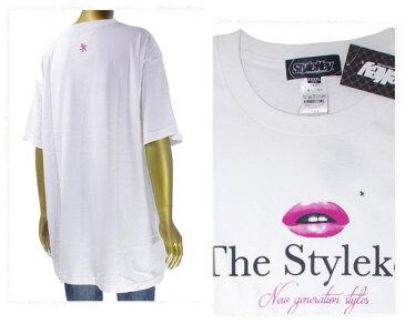 STYLEKEY スタイルキー ビッグサイズ対応 リップをモチーフにしたセクシーな Tシャツ メンズ 【SK18SP-SS11 リッフ】