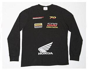 HIPHOP ヒップホップ ラッパー 21SAVAGE 21サヴェージ着用 HONDAとのコラボ Forever21 Tシャツ L/S メンズ 【HONDA GRAPHIC】